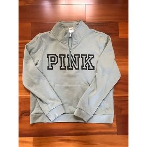 *NWT* VS PINK Everyday Lounge Perfect Quarter Zip